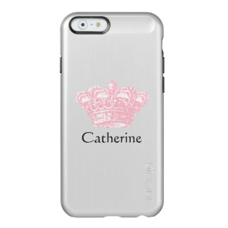 Pink Crown - Personalize It Incipio Feather® Shine iPhone 6 Case