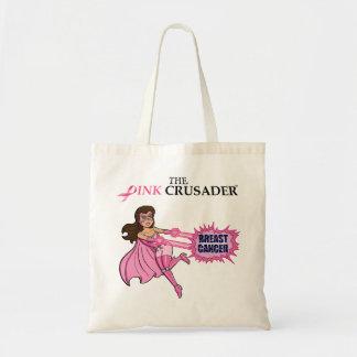 Pink Crusader Breast Cancer Awareness Tote Bag 5