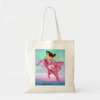 Pink Crusader Breast Cancer Awareness Tote Bag 6