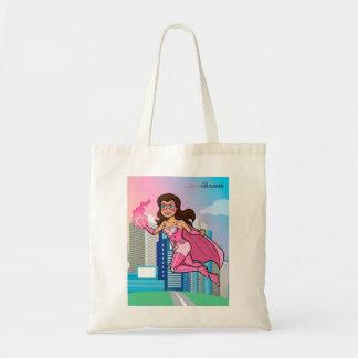 Pink Crusader Breast Cancer Awareness Tote Bag 7