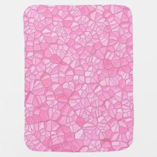 Pink crystal Baby Blanket