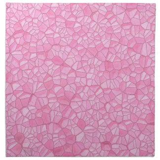 Pink crystal Cloth Napkins (set of 4)