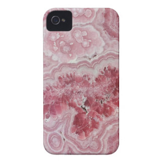 Pink crystal druse geode gem stone photo hipster iPhone 4 covers