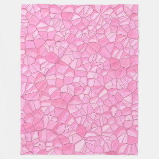 Pink crystal Fleece Blanket, Large