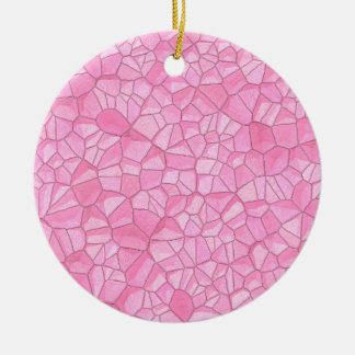 Pink crystal Ornament
