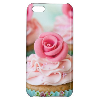 Pink Cup Cake iPhone 5C Covers