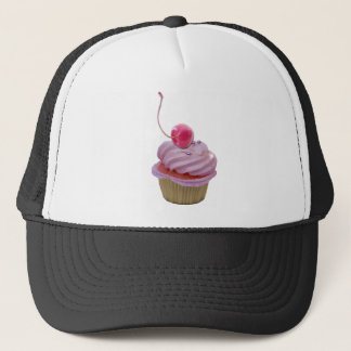 Pink Cupcake and Cherry Trucker Hat