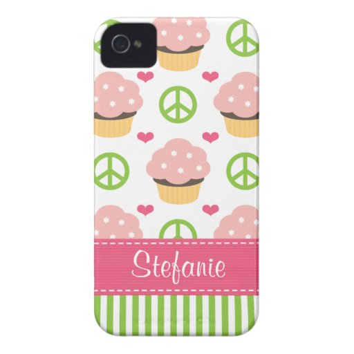 Pink Cupcake Blackberry Bold Case Cover