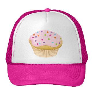 Pink Cupcake Mesh Hat
