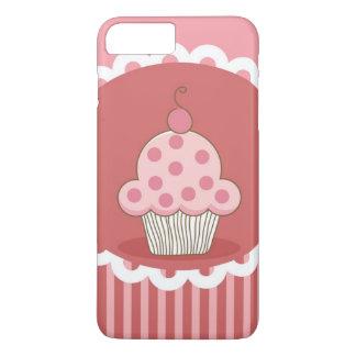 Pink Cupcake Design iPhone 8 Plus/7 Plus Case