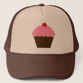 Pink Cupcake Love Trucker Hat