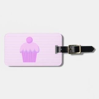 Pink Cupcake. Luggage Tag