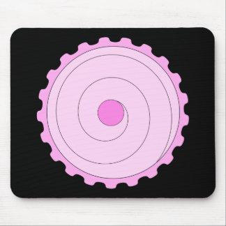 Pink Cupcake. Mouse Pad
