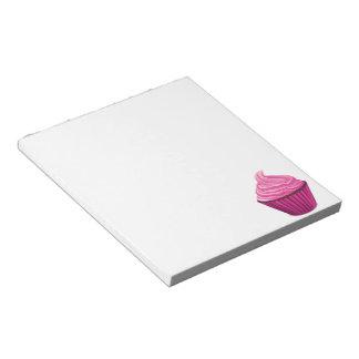Pink Cupcake Notepad