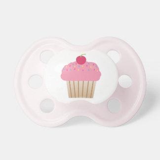 Pink Cupcake Pacifier