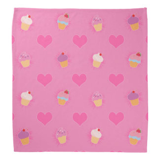 Pink Cupcake Pattern Do-rag