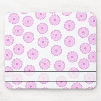 Pink Cupcake Pattern. Mouse Pad