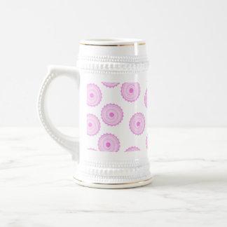 Pink Cupcake Pattern Mugs