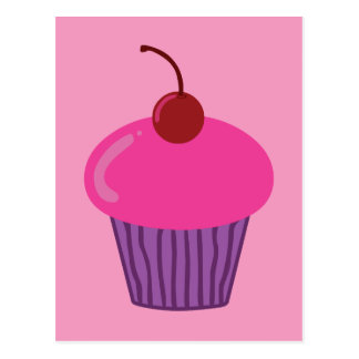 Pink Cupcake Postcards