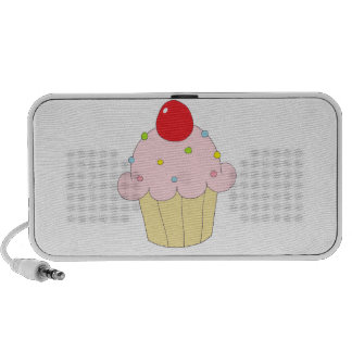 Pink Cupcake Travel Speakers