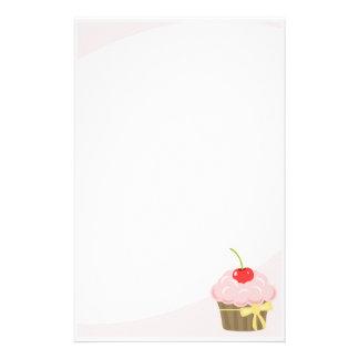 Pink Cupcake Stationery