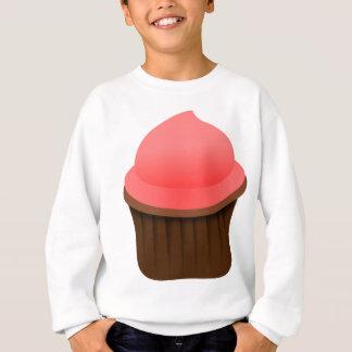 Pink cupcake sweatshirt
