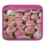 Pink Cupcakes Sleeve For iPads