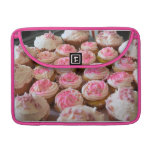Pink Cupcakes Sleeve For MacBook Pro