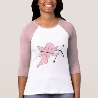 "Pink Cupid ""Love is Blind"" T-Shirt"
