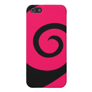 Pink Curl iPhone 5/5S Case