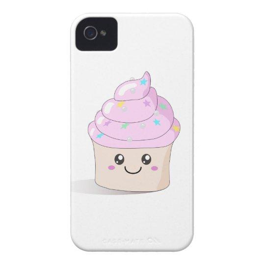 Pink Cute Cupcake Case-Mate iPhone 4 Cases