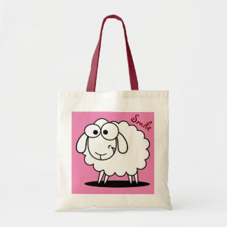 Pink Cute Funny Sheep
