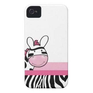 Pink Cute Zebra Blackberry Phone Case iPhone 4 Cases