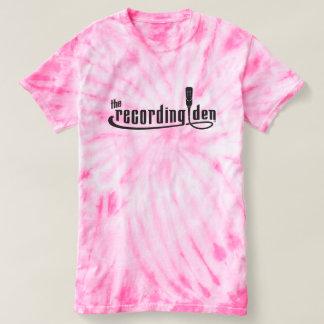 Pink Cyclone Tie-Dye T-Shirt