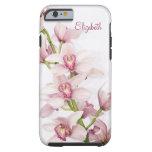 Pink Cymbidium Orchid Floral iPhone 6 case Vibe Ca Tough iPhone 6 Case