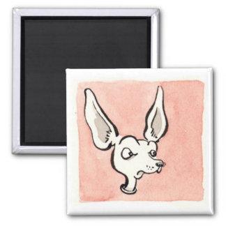 Pink D Square Magnet