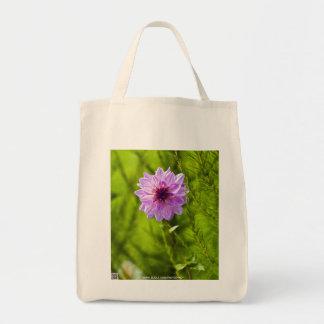 Pink Dahlia, Aquarell Effect Bags