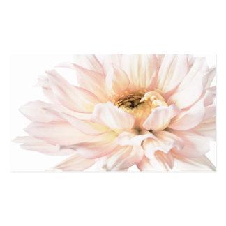 Pink Dahlia Artwork - Customize Business Cards