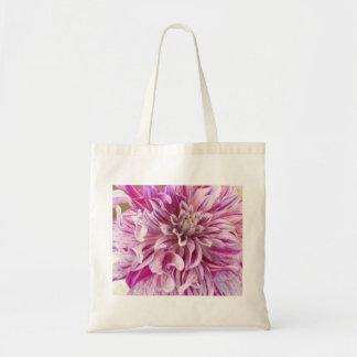 Pink Dahlia Blossom Environmental Tote Tote Bag