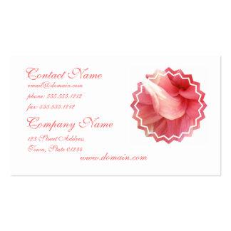 Pink Dahlia Business Card