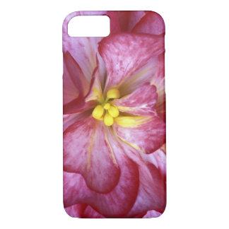 Pink dahlia detail iPhone 8/7 case