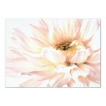Pink Dahlia Flower - Dahlias Customised Template Personalized Invite