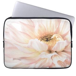 Pink Dahlia Flower - Dahlias Customized Template Laptop Sleeve