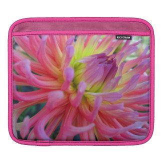 Pink Dahlia iPad Sleeve