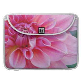 Pink Dahlia MacBook Pro Sleeves