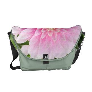 Pink Dahlia Commuter Bag