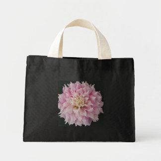 Pink Dahlia Mini Tote Bag