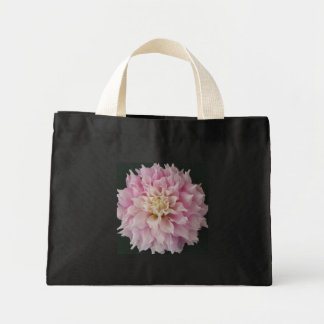 Pink Dahlia Canvas Bags