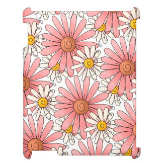 Pink Daisies and White Daisies iPad Cover