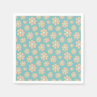 Pink Daisies Paper Napkins